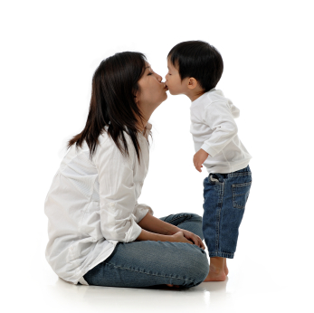 Asian Chinese mother and child 2
